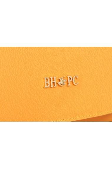 Geanta Beverly Hills Polo Club 668BHP0156 galben