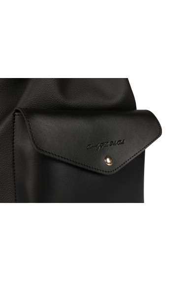 Geanta Beverly Hills Polo Club 668BHP0101 negru