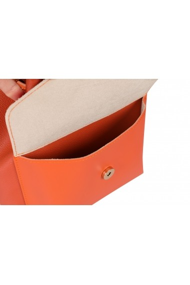 Geanta Beverly Hills Polo Club 668BHP0106 portocaliu