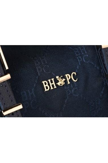 Geanta Beverly Hills Polo Club 657BHP0888 bleumarin