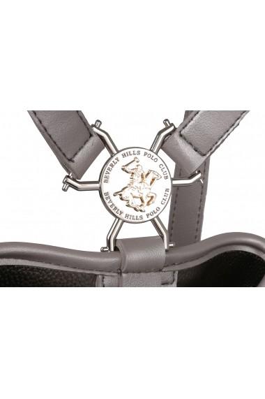 Rucsac Beverly Hills Polo Club 657BHP0815 Argintiu