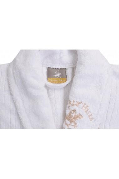 Halat de baie Beverly Hills Polo Club 355BHP1713 Alb