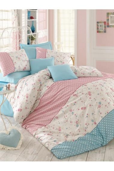 Set lenjerie de pat dublu Pearl Home 172PRL2216 Multicolor