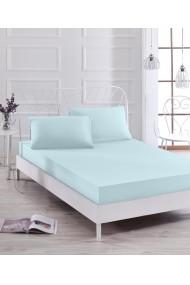 Set lenjerie de pat single EnLora Home 162ELR0531 Albastru