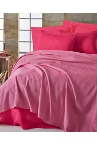 Set lenjerie de pat single 162ELR6152 EnLora Home Fucsia