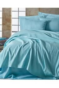 Set lenjerie de pat 162ELR6248 EnLora Home Bleu