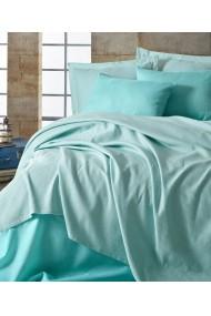 Set lenjerie de pat 162ELR6247 EnLora Home Albastru