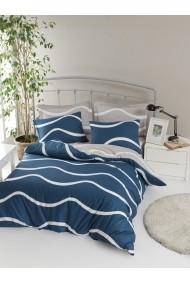 Set lenjerie de pat 162ELR2150 EnLora Home Albastru