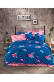 Set lenjerie de pat 162ELR2236 EnLora Home Multicolor