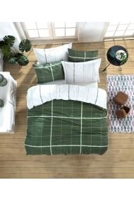Set lenjerie de pat 162ELR2252 EnLora Home Verde