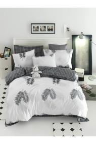 Set lenjerie de pat 162ELR2265 EnLora Home Alb