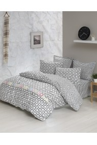 Set lenjerie de pat 162ELR2274 EnLora Home Alb