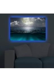 Tablou din panza, cu lumina LED Shining ASR-239SHN3280 Multicolor