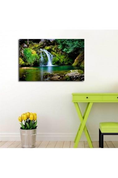 Tablou din panza, cu lumina LED Shining ASR-239SHN3283 Multicolor