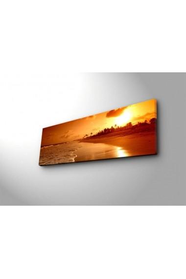 Tablou din panza, cu lumina LED Shining ASR-239SHN3212 Multicolor