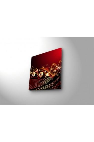 Tablou din panza, cu lumina LED ASR-239SHN4276 Multicolor
