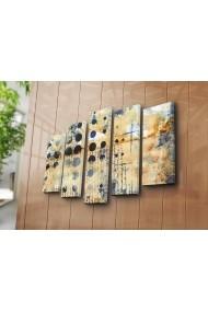 Tablou decorativ (5 bucati) Canvart 249CVT1257 multicolor