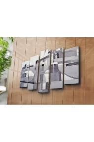 Tablou decorativ (5 bucati) Canvart 249CVT1261 multicolor