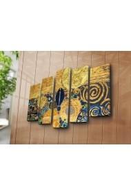 Tablou decorativ (5 bucati) Canvart 249CVT1285 multicolor