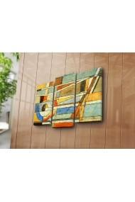 Tablou decorativ (3 bucati) Canvart 249CVT1228 multicolor