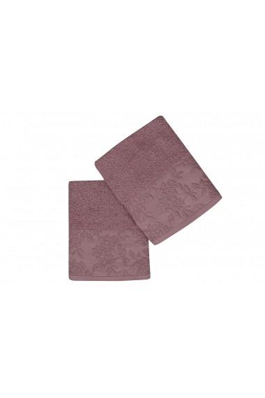 Set 2 prosoape pentru maini Soft Kiss 330SFT2209 Lila