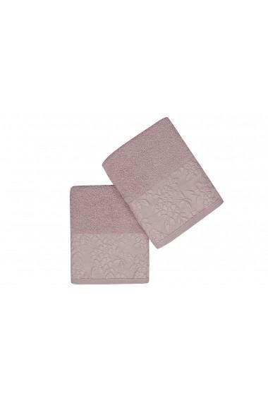 Set 2 prosoape pentru maini Soft Kiss 330SFT2207 Lila