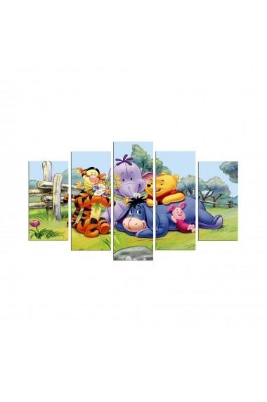 Tablou din MDF(5 bucati) Taffy 241TFY1922 Multicolor