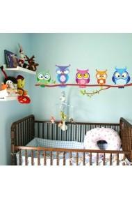 Sticker decorativ de perete Evila Originals 837EVL1196 Multicolor