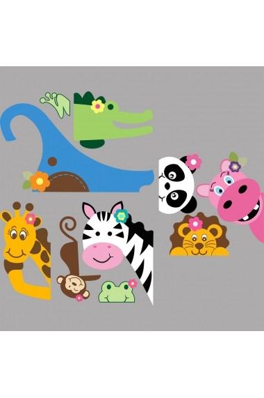 Sticker decorativ de perete Evila Originals 837EVL1254 Multicolor