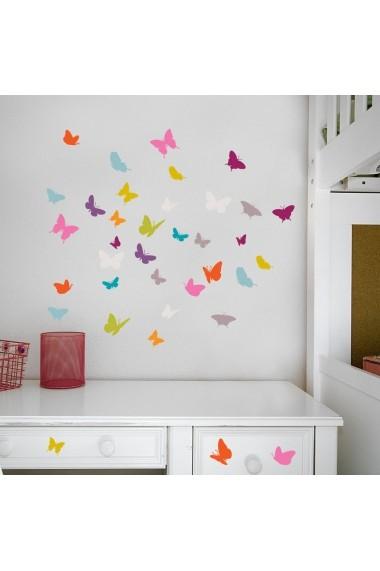 Sticker decorativ de perete Evila Originals 837EVL1195 Multicolor