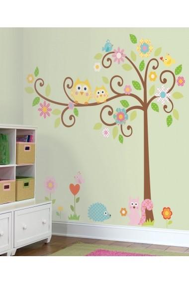 Sticker decorativ de perete Evila Originals 837EVL1199 Multicolor