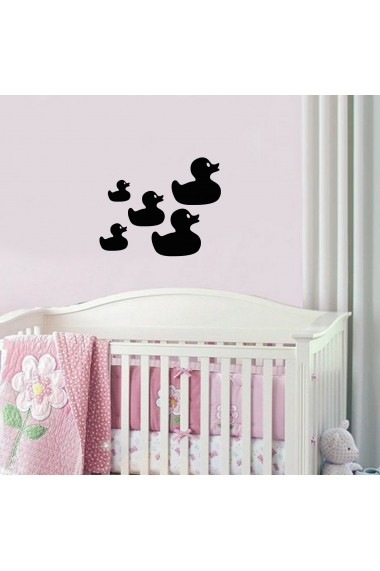 Sticker decorativ de perete Taffy 241TFY1008 Negru