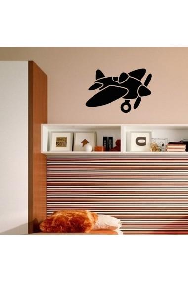 Sticker decorativ de perete Taffy 241TFY1004 Negru