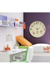 Ceas decorativ din MDF Taffy 241TFY3110 Multicolor