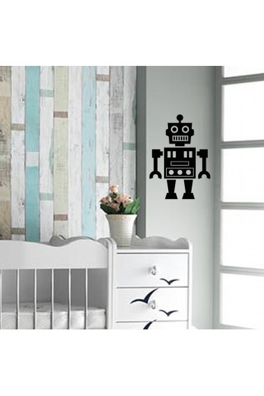 Sticker decorativ de perete Taffy 241TFY1007 Negru