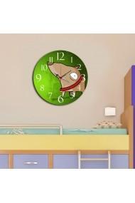 Ceas decorativ din MDF Taffy 241TFY3102 Multicolor