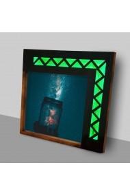 Tablou din MDF cu lumina LED Suoq Design 844SUO1045 Multicolor