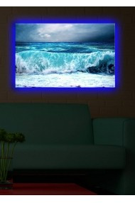 Tablou din panza, cu lumina LED Suoq Design 239SHN1290 Multicolor