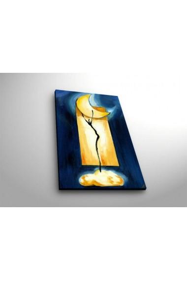 Tablou din panza, cu lumina LED Suoq Design 239SHN3281 Multicolor
