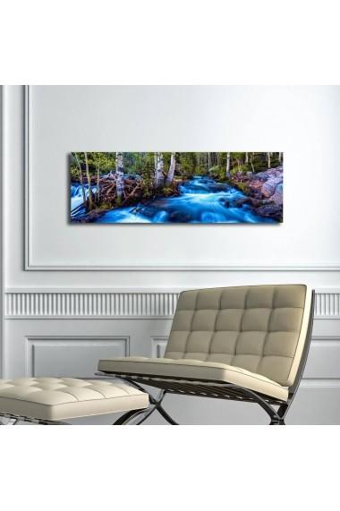 Tablou din panza, cu lumina LED Suoq Design 239SHN3262 Multicolor