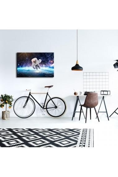 Tablou din panza, cu lumina LED Suoq Design 239SHN4306 Multicolor