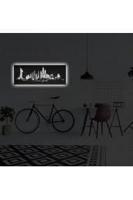 Tablou din panza, cu lumina LED Suoq Design 239SHN4313 Multicolor