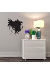 Sticker decorativ de perete Sticky 260CKY5001 Negru
