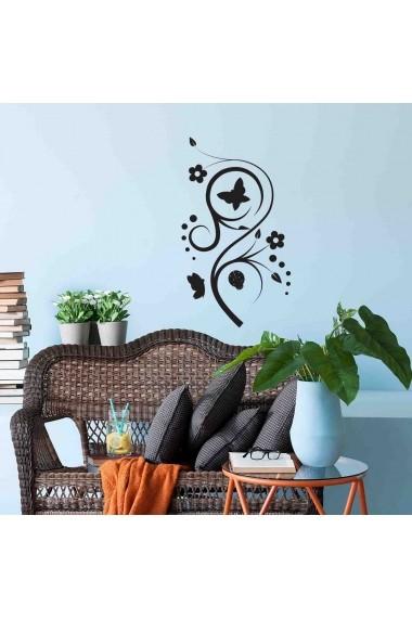 Sticker decorativ de perete Sticky 260CKY5023 Negru