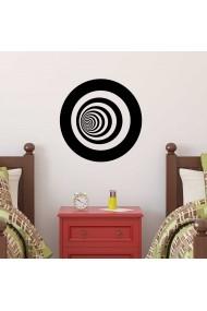 Sticker decorativ de perete Sticky 260CKY5028 Negru