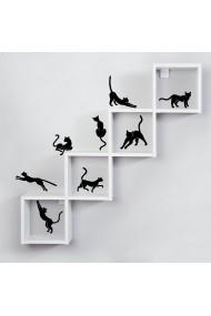 Sticker decorativ de perete Sticky 260CKY5037 Negru