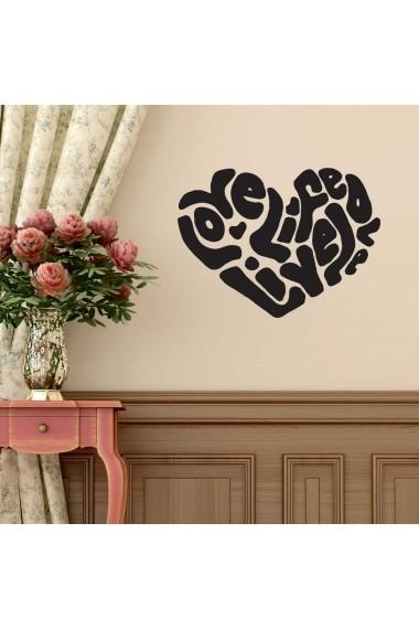 Sticker decorativ de perete Sticky 260CKY5043 Negru