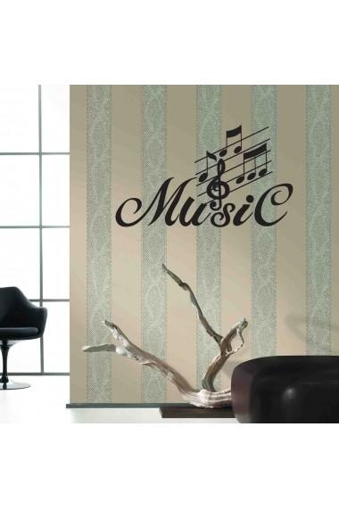Sticker decorativ de perete Sticky 260CKY5052 Negru