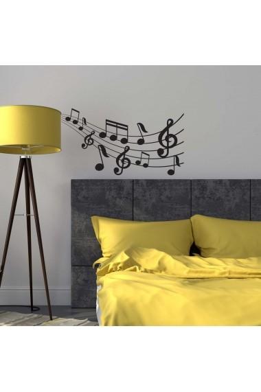 Sticker decorativ de perete Sticky 260CKY5058 Negru