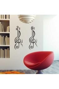 Sticker decorativ de perete Sticky 260CKY5060 Negru